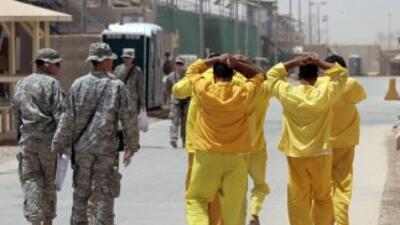 Prisioneros en Irak.