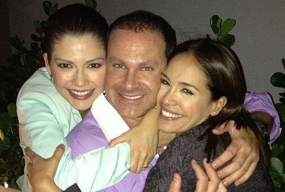 """""""Los tres mosqueteros"""", compartió Karla. (Marzo 28, 2014)"""