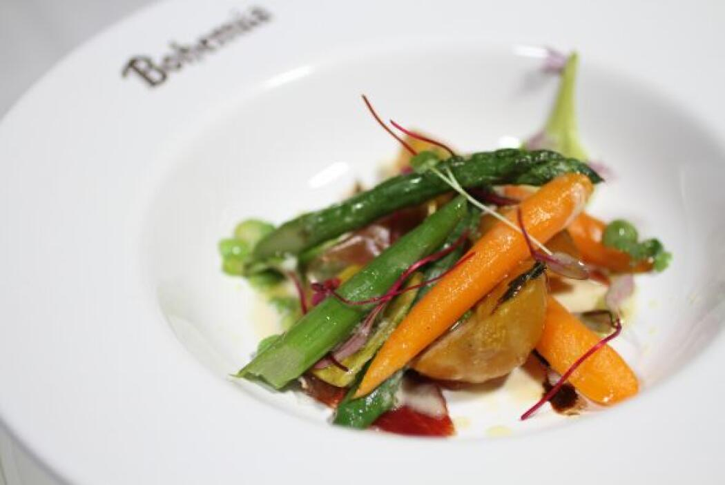 El chef Anthony Demetre, desde su trinchera inglesa, ha experimentado co...