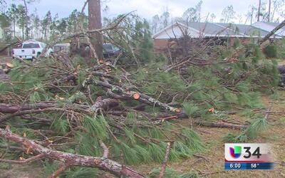 Dos tornados provocan serias afectaciones al sureste de Georgia