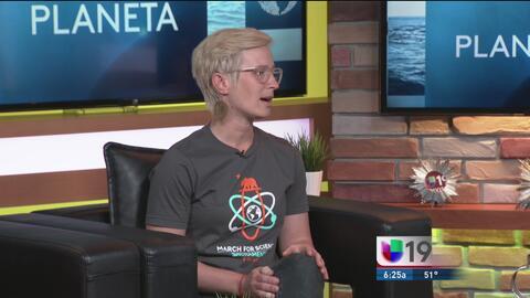 Marcha en Sacramento para apoyar la ciencia y mejorar la vida en la Tierra