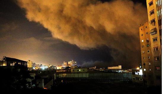 En Gaza dicen que se trata de un acto fraguado por Israel en represalia...