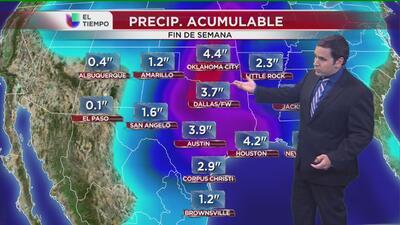 El clima para el norte de Texas