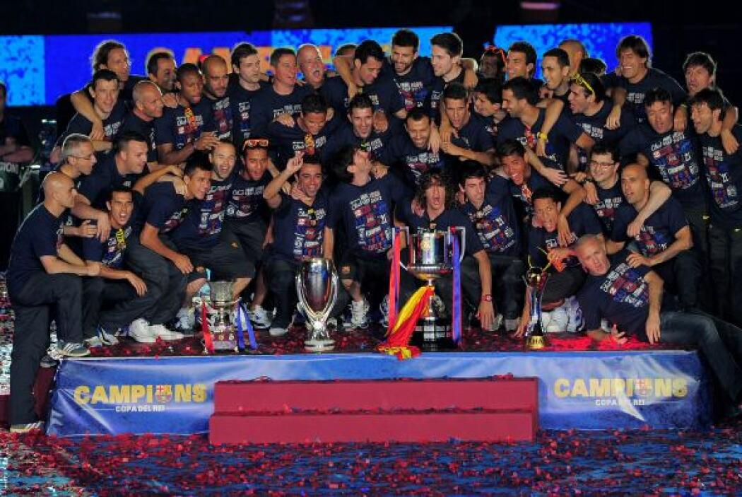 La Copa del Rey se fue a las vitrinas del Barcelona, que en la final pas...