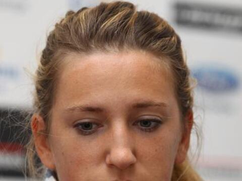 La bielorrusa y primer raqueta mundial, Victoria Azarenka, no jug&oacute...
