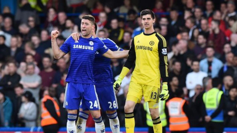 Eden Hazard celebra el gol del triunfo.