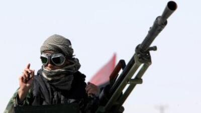 La revuelta de Libia comenzó el 19 de febrrero, inspirada en las revoluc...