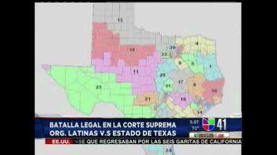 Batalla legal por mapas electorales