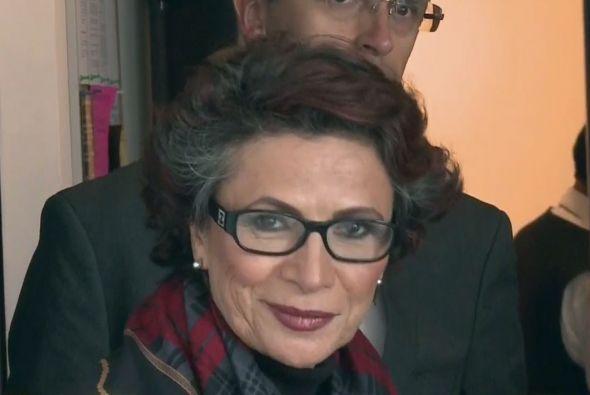 Patricia Reyes Spíndola quedó muy consternada con la noticia.