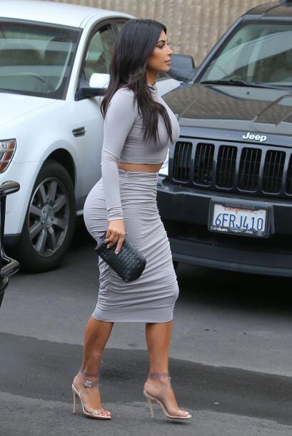Hay que admitir que Kim suele caer en el mal gusto al tratar de lucir sú...