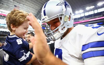 """Tony Romo: """"Mi hijo lloró cuando le dije que me iba a retirar"""""""