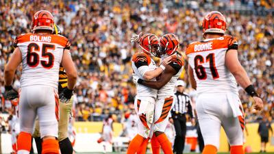 Highlights Temporada 2015 Semana 8: Cincinnati Bengals 16-10 Pittsburgh...