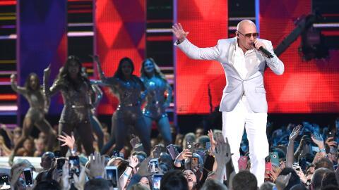 El rapero cubano, Pitbull.