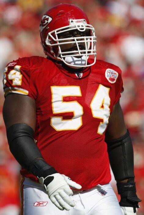 67. Brian Waters (guardia - Kansas City Chiefs)