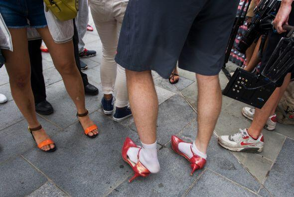 Los que llegaron al final, llegaron con los zapatos destruidos, o alguno...