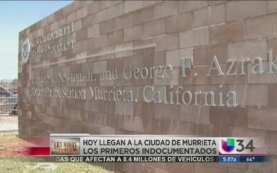 Residentes de Murrieta preocupados por el traslado