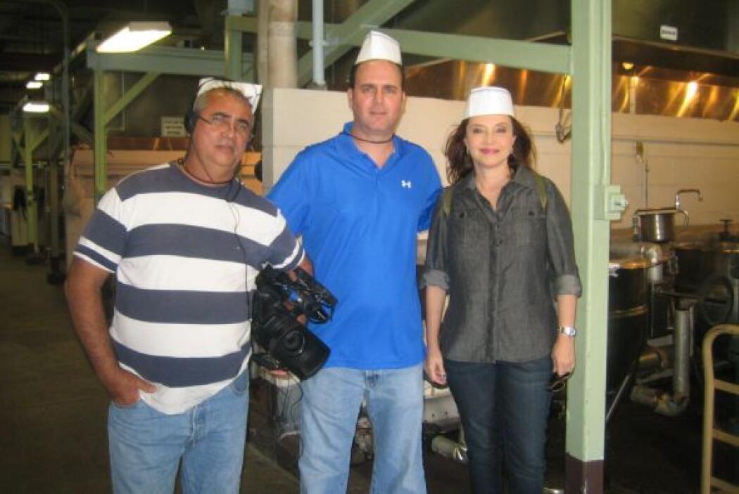 Una imagen desde el interior: en la cocina de Guantámo.