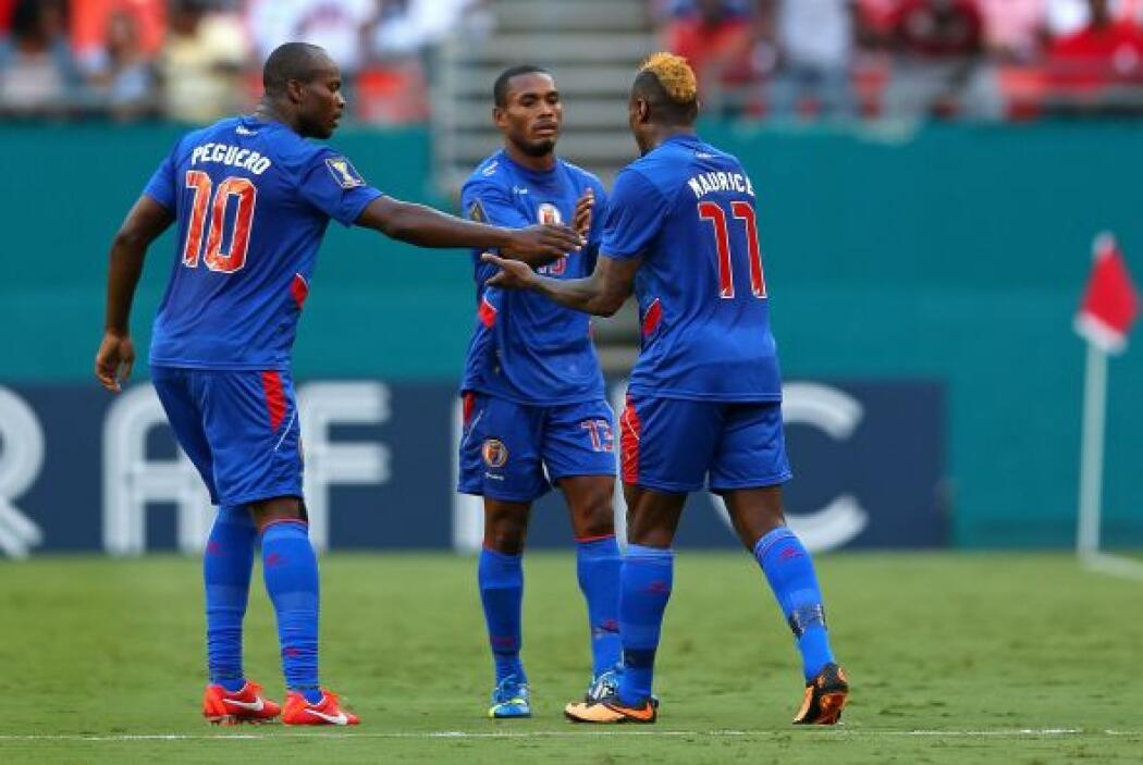 Haití jugó ante Trinidad y Tobago buscando tener opciones de clasificar...