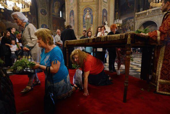 El Camino de la Cruz se convirtió en la meta de numerosos peregrinos
