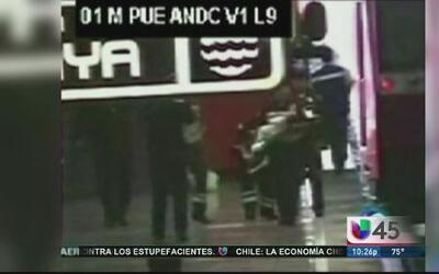Mujer con bebé en brazos es arrollada por el metro en la estación Puebla.