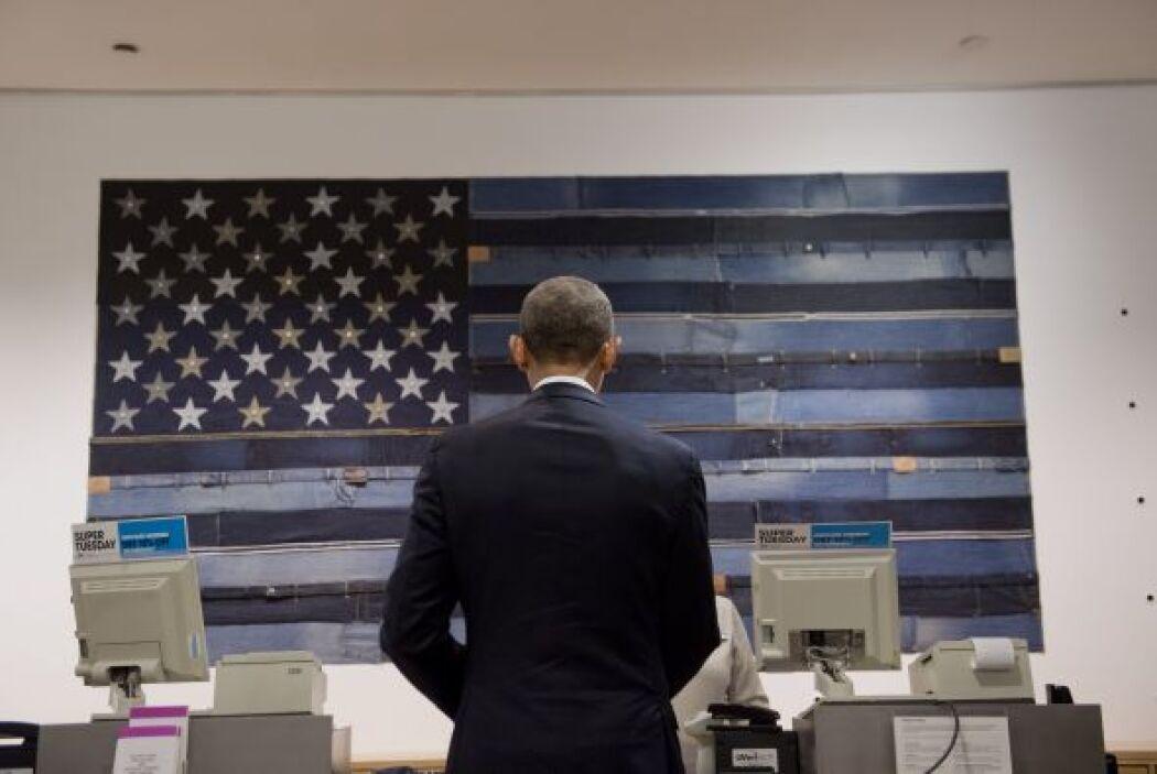 El presidente también bromeó sobre el aparato lector de tarjetas y luego...