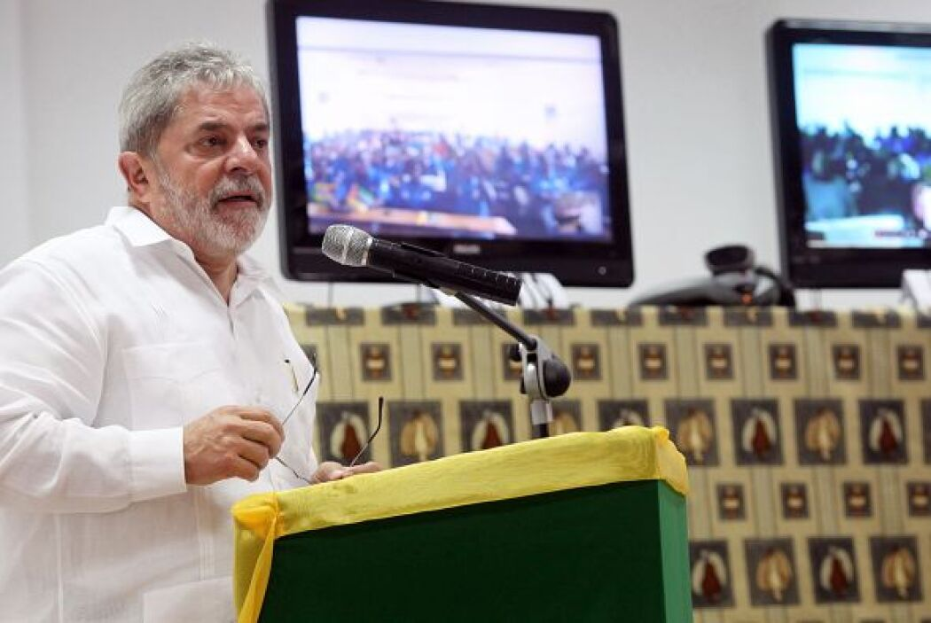 Durante esta visita oficial de dos días, el presidente brasileño estimó...