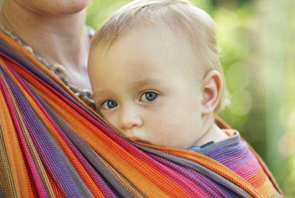 Muchos padres que cargan a su bebé de esta forma informan que nun...