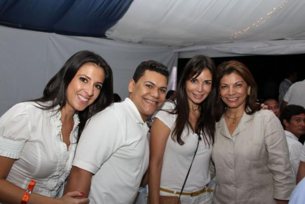 Y luego con la presidenta de Costa Rica, Laura Chinchilla Miranda