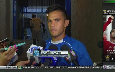 """Salvadoreño Andrés Flores: """"México es uno de los rivales al que todos le..."""