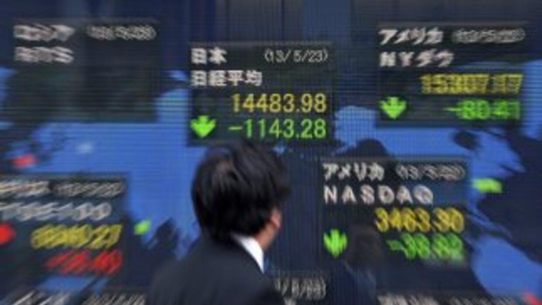 La bolsa de Tokio se desplomó 7.32%.