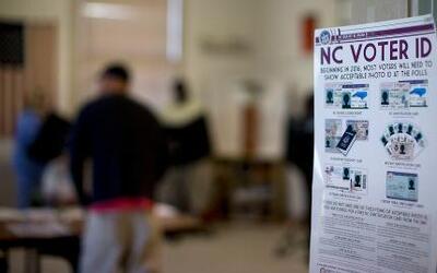 Normas estrictas para votar en Carolina del Norte