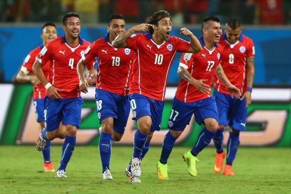 Chile consiguió sus primero tres puntos en Brasil, y ahora buscar...