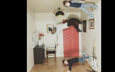 Curiosa foto de Ricky Martin y sus hijos