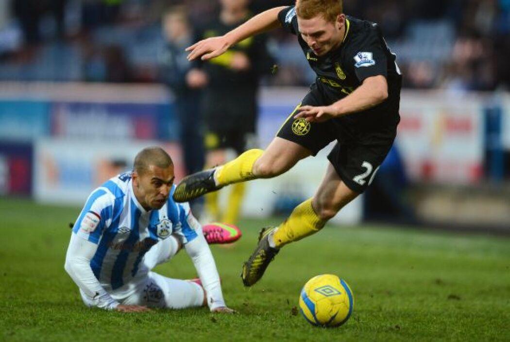 El Wigan Athletic visitó el campo del Huddersfield Town.
