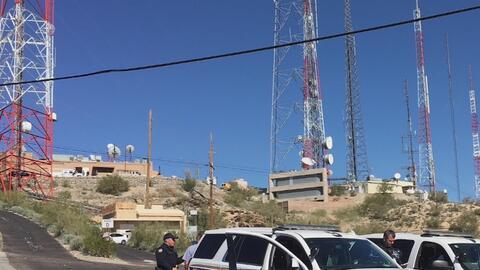 Continúa la búsqueda de los sospechosos de vandalizar antenas de televisión