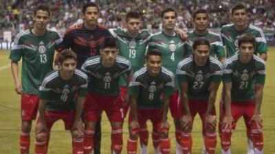 México presente en el Mundial de Brasil 2014.