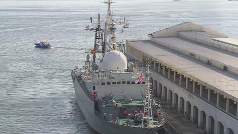 Un barco de espionaje ruso habría sido localizado en Connecticut