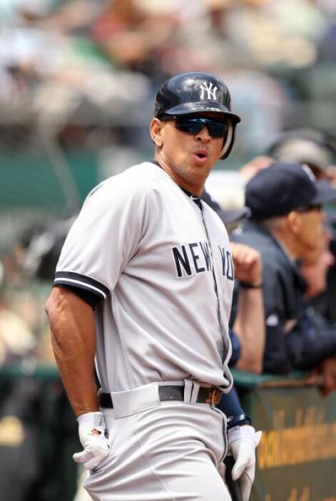 La estrella del béisbol de las Grandes Ligas, el tercera base de los Yan...