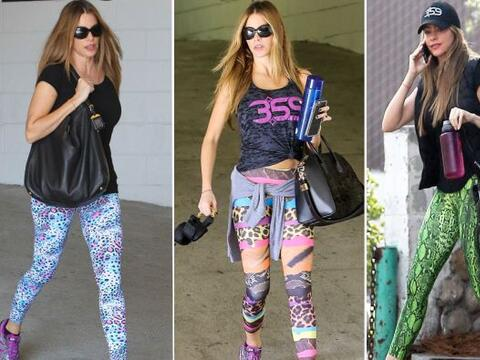 La colombiana es fan de esta prenda, la cual la suele usar en colores ll...