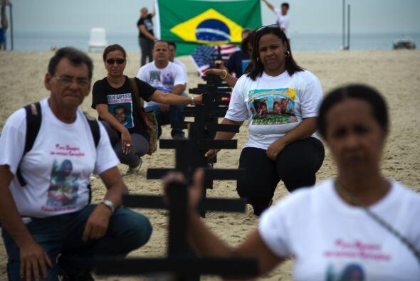 """""""En Brasil entendemos el dolor causado por esta violencia sin senti..."""