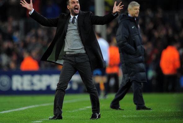 Esto causó la euforia del técnico Josep Guardiola.