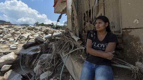 Residentes de Mocoa, Colombia, serán reubicados si se determina que vive...