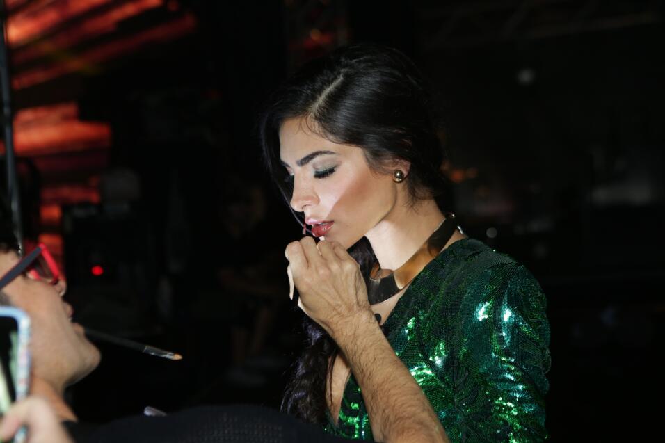 Alejandra nos encantó en el tercer en vivo de La Banda con un vestido de...