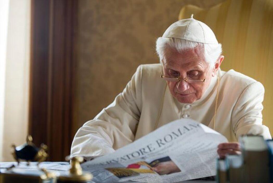 Benedicto solía pasar varias semanas de reposo en los Alpes italianos pe...