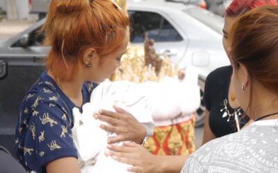 """""""No quiero vivir"""", dice la madre de la bebé cuyo asesinato fue transmiti..."""