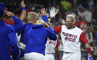 Jugadores de la selección puertorriqueña de béisbol se convierten en #Lo...
