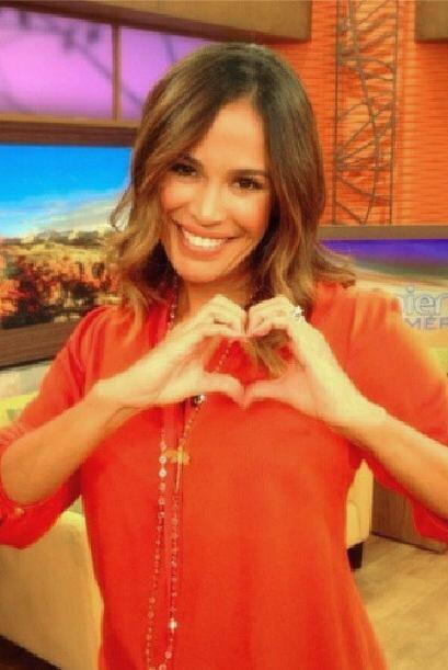 """Love"", mostró Karla Martínez. (Septiembre 21, 2014)"