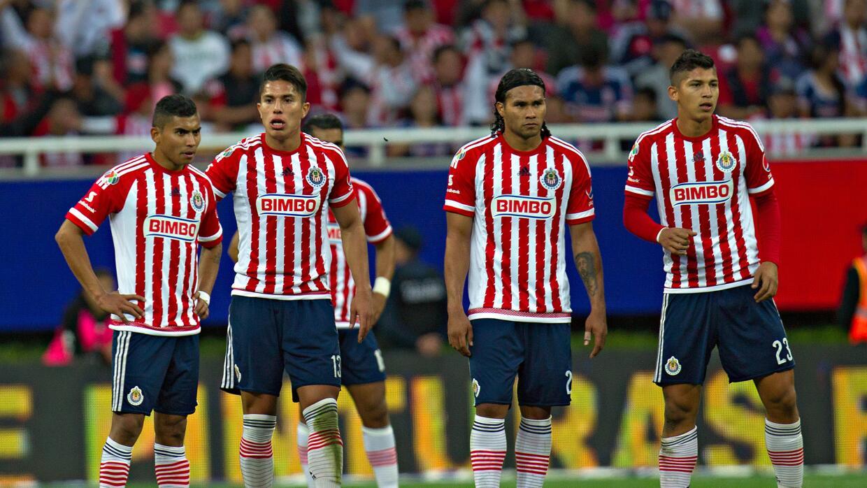 Jugadores del Guadalajara