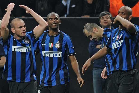 Ni el público presente lo podía creer. El Inter estaba der...