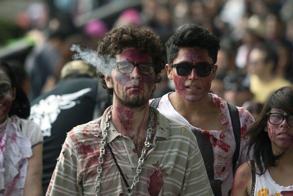 Y la integración, porque un zombie no mata, hace un nuevo zombie, un nue...